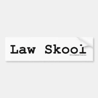 Law Skool Bumper Stickers