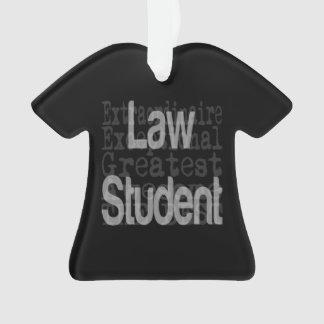Law Student Extraordinaire Ornament