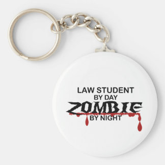 Law Student Zombie Key Ring