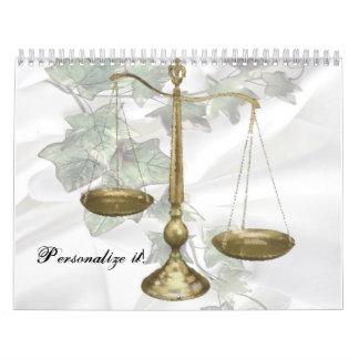 Law Wall Calendar