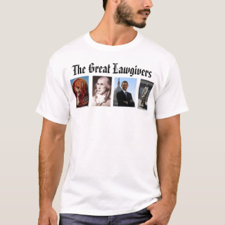 lawgiver, James Madison, Icon Moses And The Bur... T-Shirt