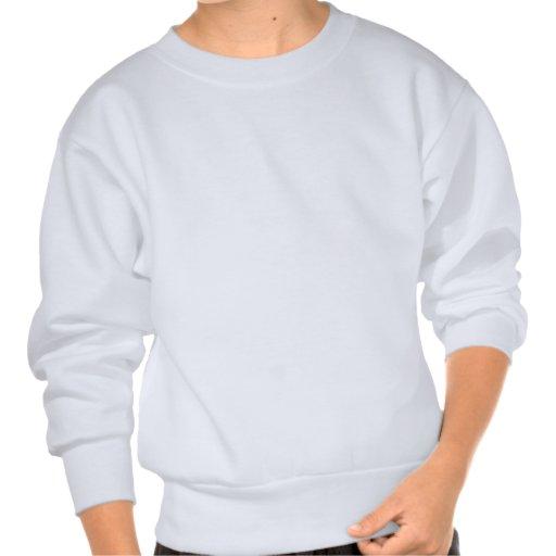 Lawn bowling design pull over sweatshirt