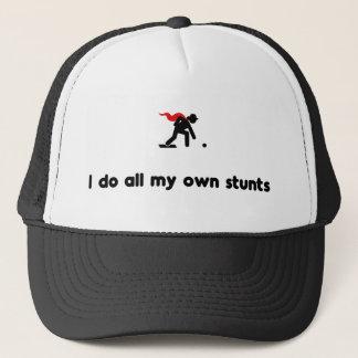 Lawn Bowling Hero Trucker Hat