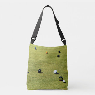Lawn_Bowls,_Action,_Full_Print_Cross_Body_Bag Crossbody Bag