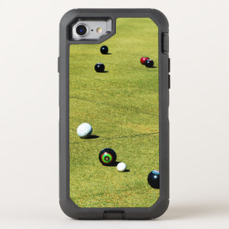 Lawn Bowls Action, OtterBox Defender iPhone 8/7 Case