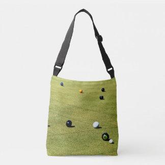 Lawn_Bowls,_Action,_Unisex_Shoulder_Bag Crossbody Bag