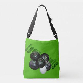 Lawn Bowls And Logo, Crossbody Bag