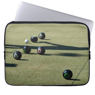 Lawn_Bowls,_Close_Call,_13inch,_Laptop_Sleeve. Laptop Sleeve