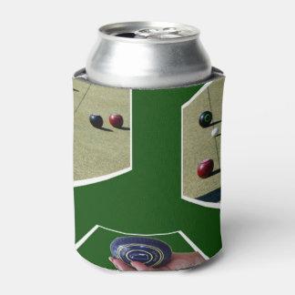 Lawn Bowls Dimensional Art, Can Cooler