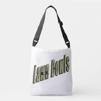 Lawn Bowls, Dimensional Logo, Crossbody Bag