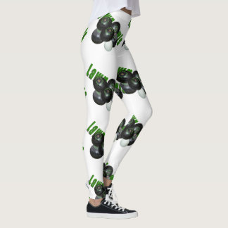 Lawn Bowls Dimensional Logo, Ladies Leggings