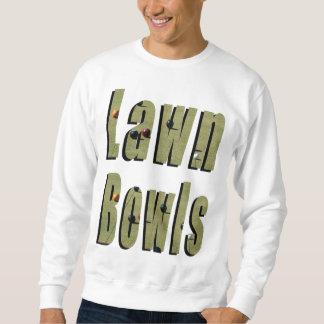 Lawn Bowls Dimensional Picture Logo, Sweatshirt