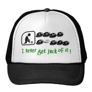 Lawn Bowls -I Never Get Jack Of It! Cap