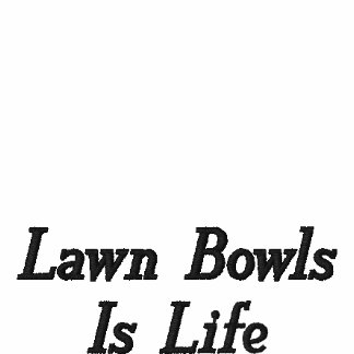 Lawn_Bowls_Is_Life, Women's Pullover Hoodie