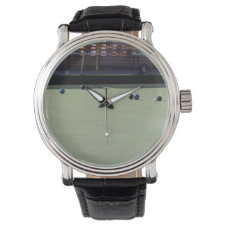 Lawn_Bowls_Kitty,_Mens_Leather_Vintage_Watch. Watch