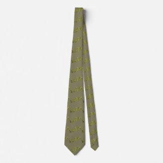Lawn Bowls Logo Teal Unisex Silky Tie