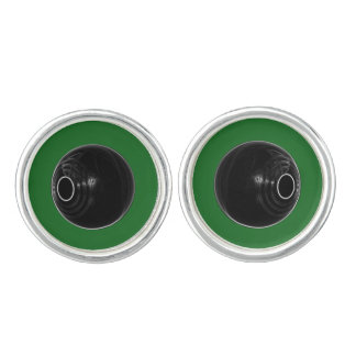 Lawn Bowls, Short mat bowls cufflinks