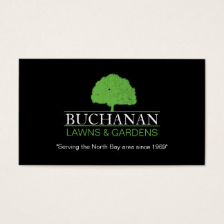 Lawn Care and Gardening Business Card