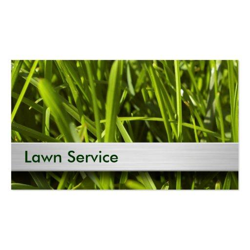 Lawn Care Business Cards - Zazzle