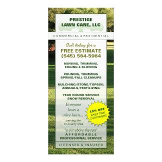 Lawn Care Custom Rack Card