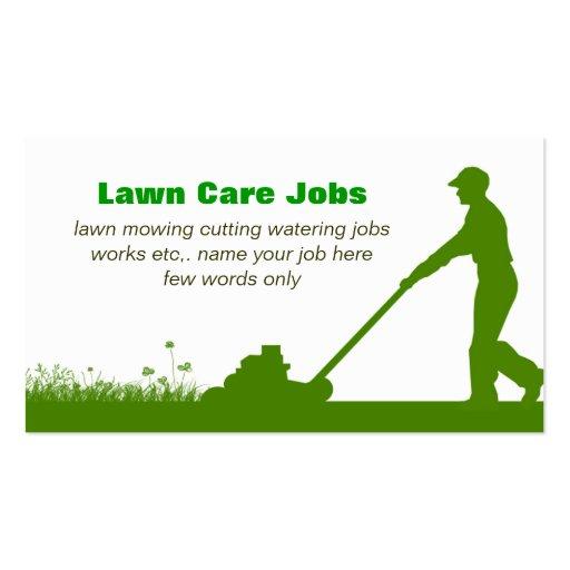 business plan lawn care