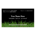Lawn Care Green Grass Double-Sided Standard Business Cards (Pack Of 100)