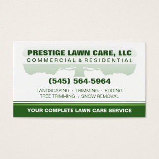 310 lawn care business cards and lawn care business card