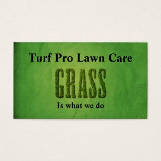 Lawn Care & Landscaper Business Card