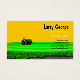 Lawn care Service Business Card