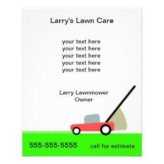 Lawn Care Services 11.5 Cm X 14 Cm Flyer