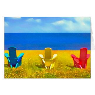 Lawn Chair Vista Card