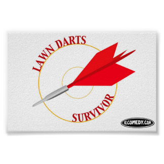 Lawn Darts Survivor Poster