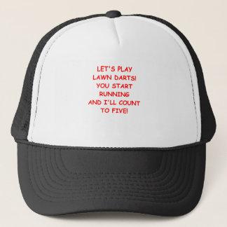 LAWN DARTS TRUCKER HAT