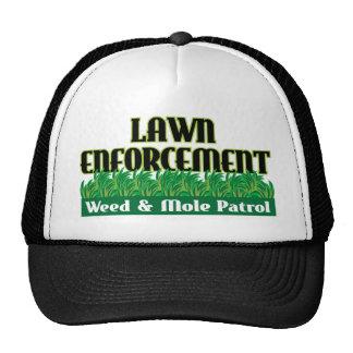 Lawn Enforcement Hats