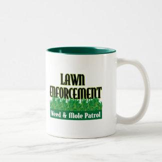 Lawn Enforcement Coffee Mugs