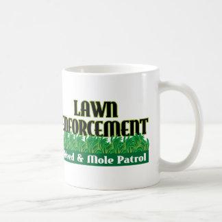 Lawn Enforcement Coffee Mug