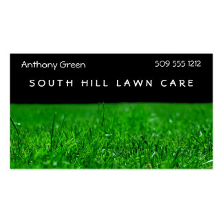 Lawn Grass Business Card Templates