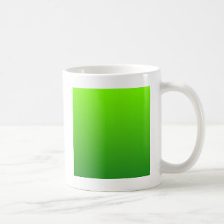 Lawn Green to Forest Green Horizontal Gradient Coffee Mug