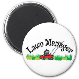 Lawn Mananger 6 Cm Round Magnet