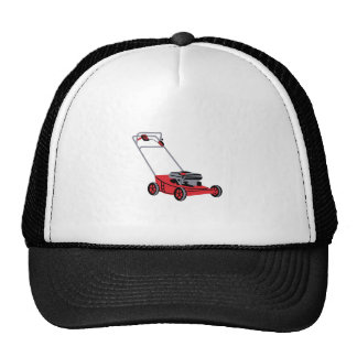 LAWN MOWER TRUCKER HATS