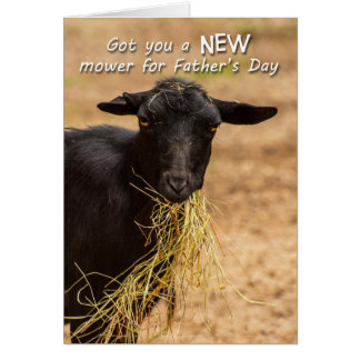 Lawn Mower Father's Day Card