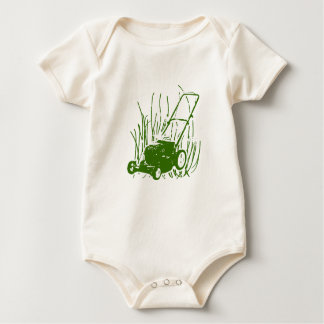 Lawn Mower Infant One Piece Baby Romper Bodysuit
