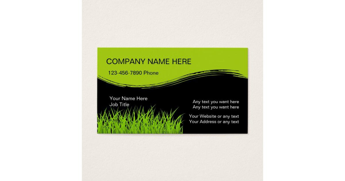 Lawn Mowing Business Cards | Zazzle.com.au