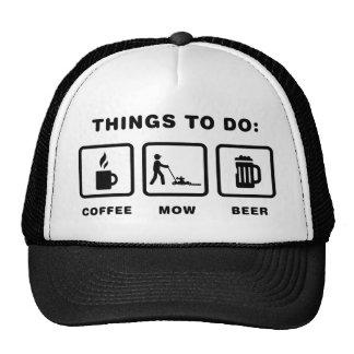 Lawn Mowing Cap