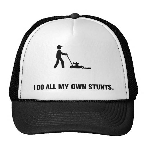 Lawn Mowing Hats