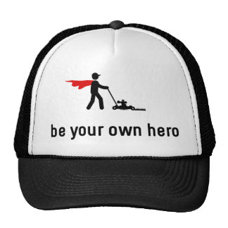 Lawn Mowing Hero Cap