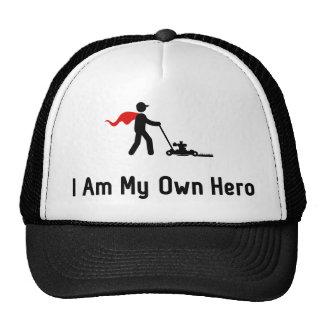 Lawn Mowing Hero Cap