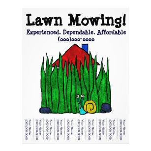 lawn care flyers zazzle com au