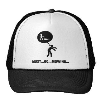 Lawn Mowing Mesh Hat