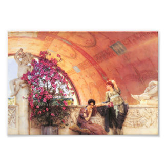 Lawrence Alma Tadema Unconscious Rivals Photograph
